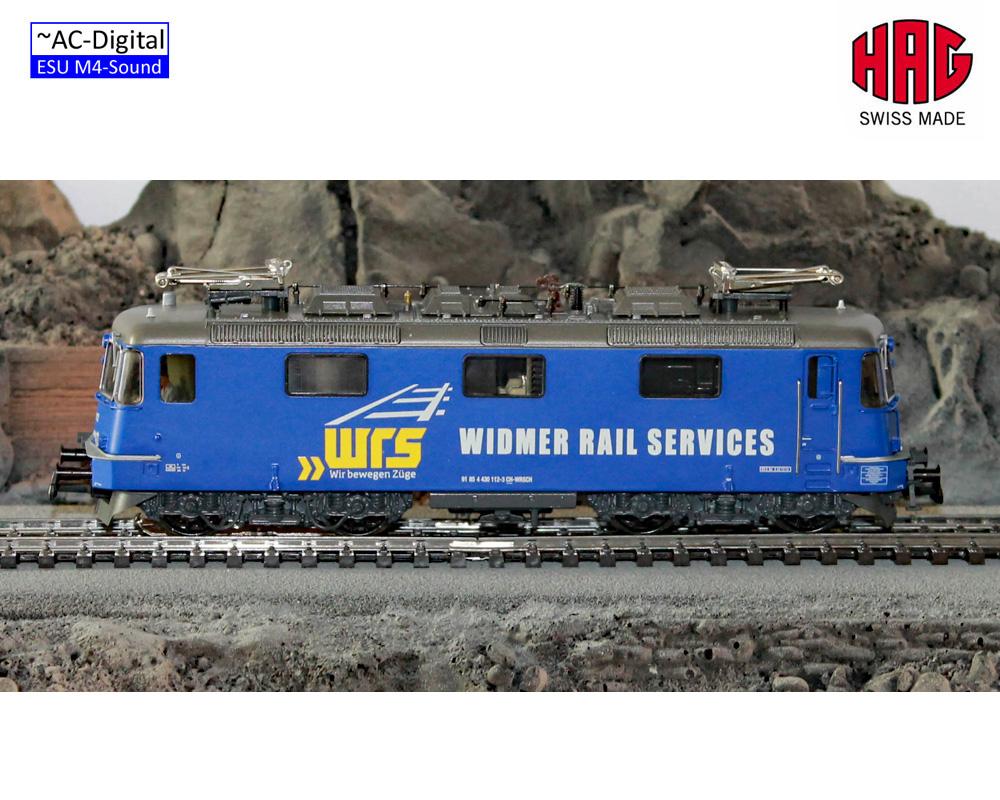 HAG 16069 -32 Re430 Widmer järnväg Services (AC -Sound) NEU i OVP