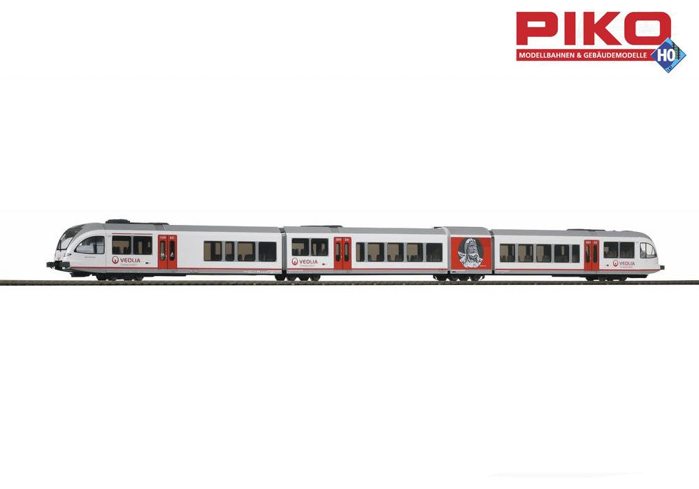 PIKO 59332  Diesel Stadler GTW 2 8 Veolia (AC-digitale) +++ NUOVO IN SCATOLA ORIGINALE